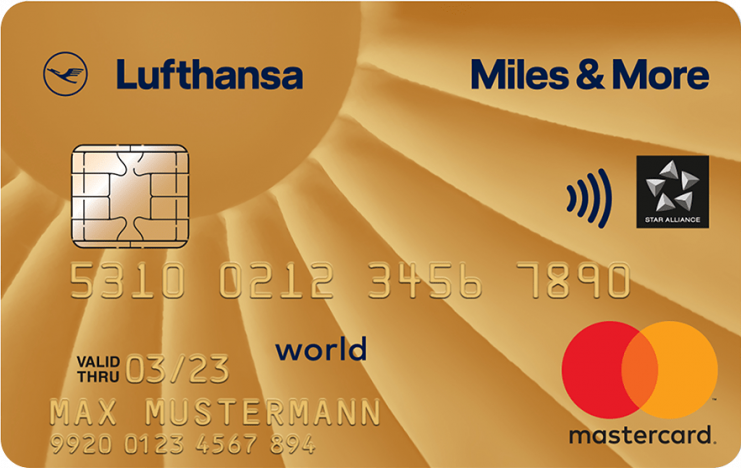 Miles & More Mastercard Gold Business card