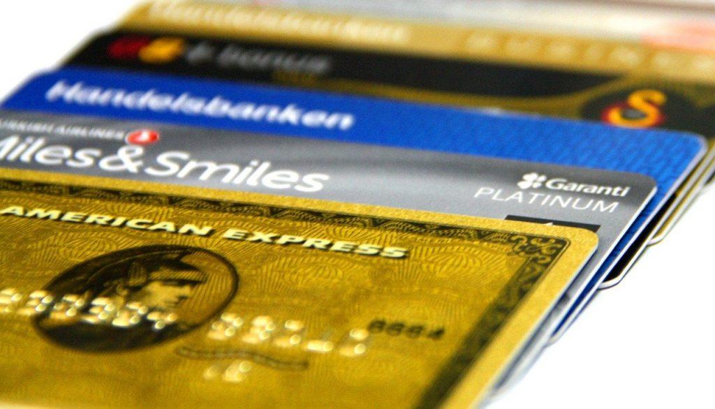 Kreditkarten Farben